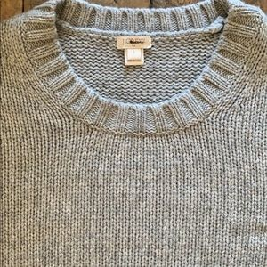 J Crew Gray Sweater